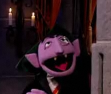 The Count from Sesame Street